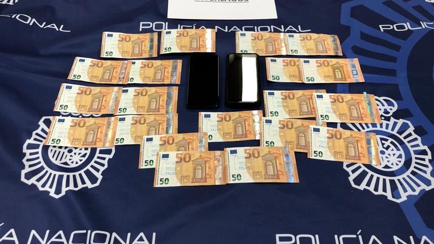 Cuatro detenidos, dos en A Coruña, por distribuir moneda falsa