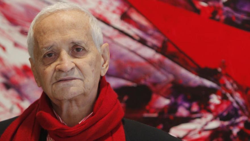Fallece el pintor Luis Feito, fundador de El Paso, por coronavirus