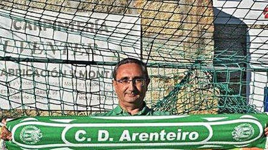 Argimiro Marnotes sucede a Cachorro en el CD Arenteiro