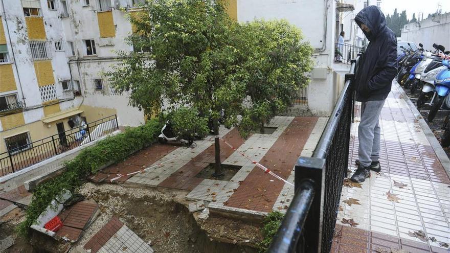 FOTOGALERÍA / Los efectos del temporal en Andalucía