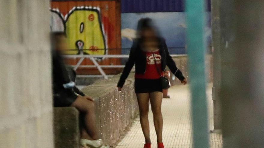 La prostitución a través de un móvil
