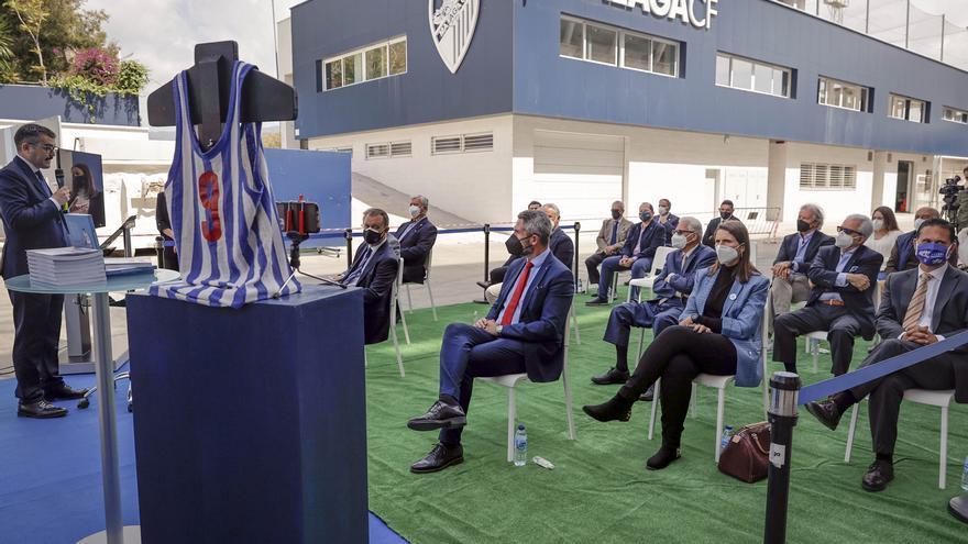 'Gigantes del baloncesto malagueño', homenaje al CD Málaga