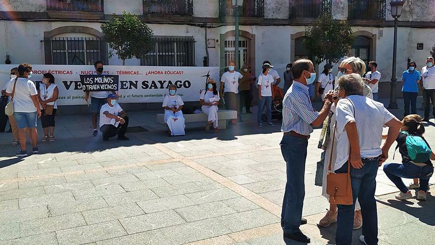 """La oposición al parque eólico de Sayago: """"no nos dejará ni dinero ni trabajo"""""""
