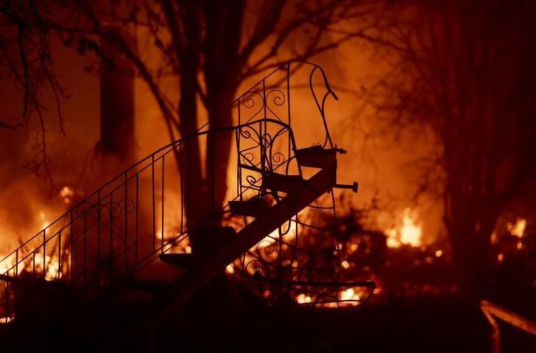 El devastador incendio de California, en imágenes