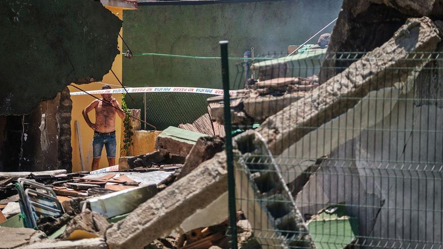 Una explosión sin víctimas destruye parcialmente una casa en La Laguna