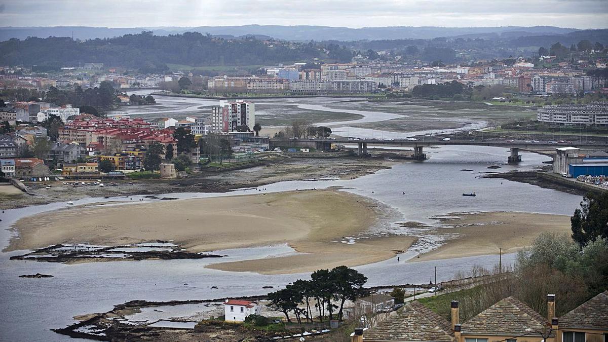 Vista de la ría de O Burgo. |   // CASTELEIRO/ROLLER AGENCIA