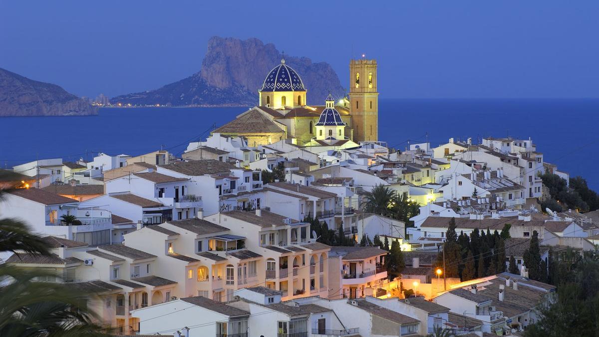 Altea, la cúpula del Mediterráneo.