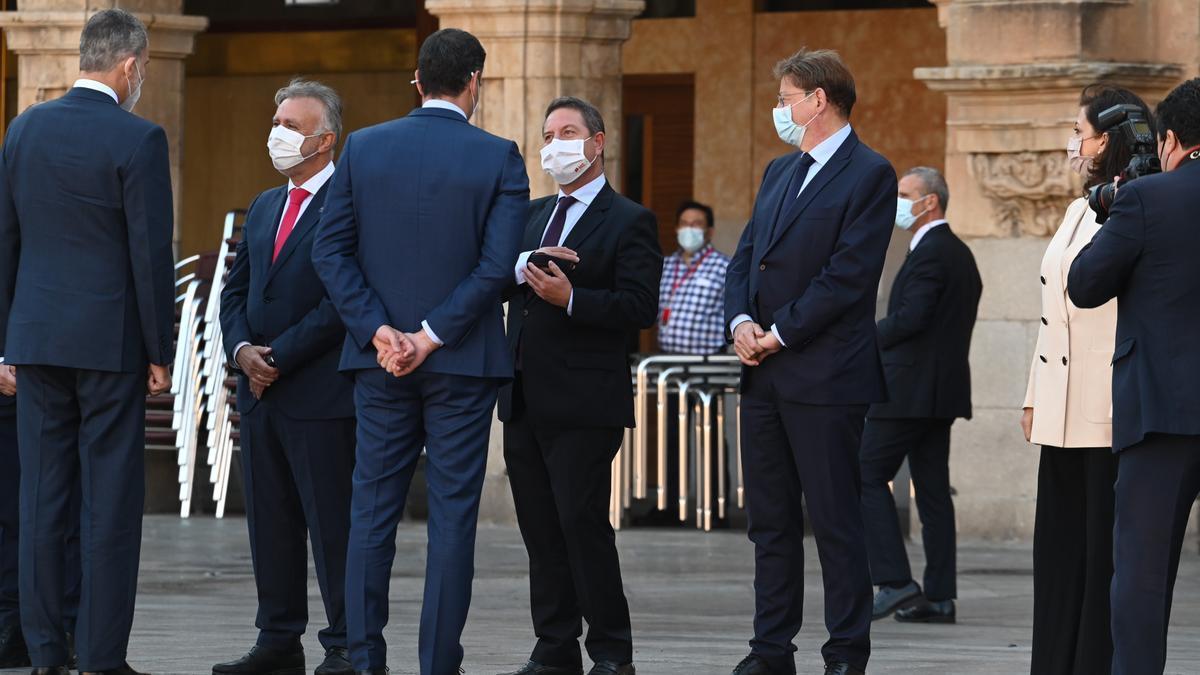 Conferencia de presidentes autonómicos en Salamanca