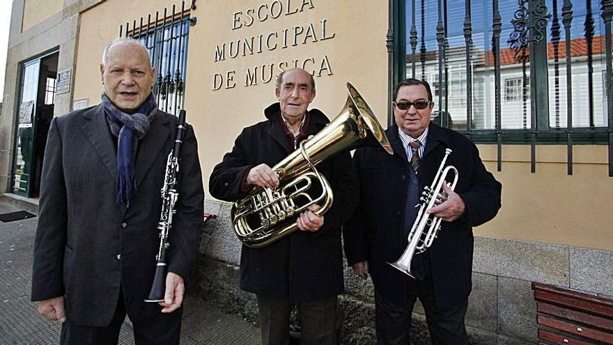 Fallece José Costoya, antiguo músico de la Banda de Silleda