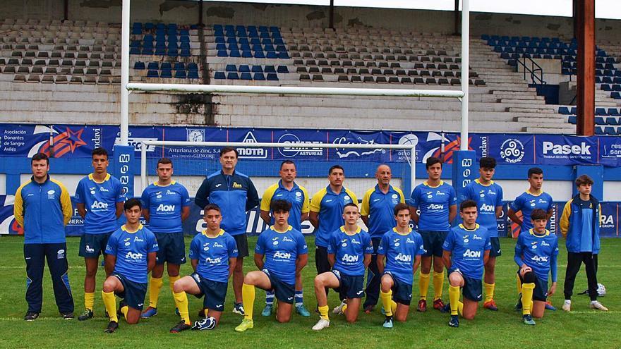 Las selecciones asturianas, lejos del mejor nivel nacional del rugby seven