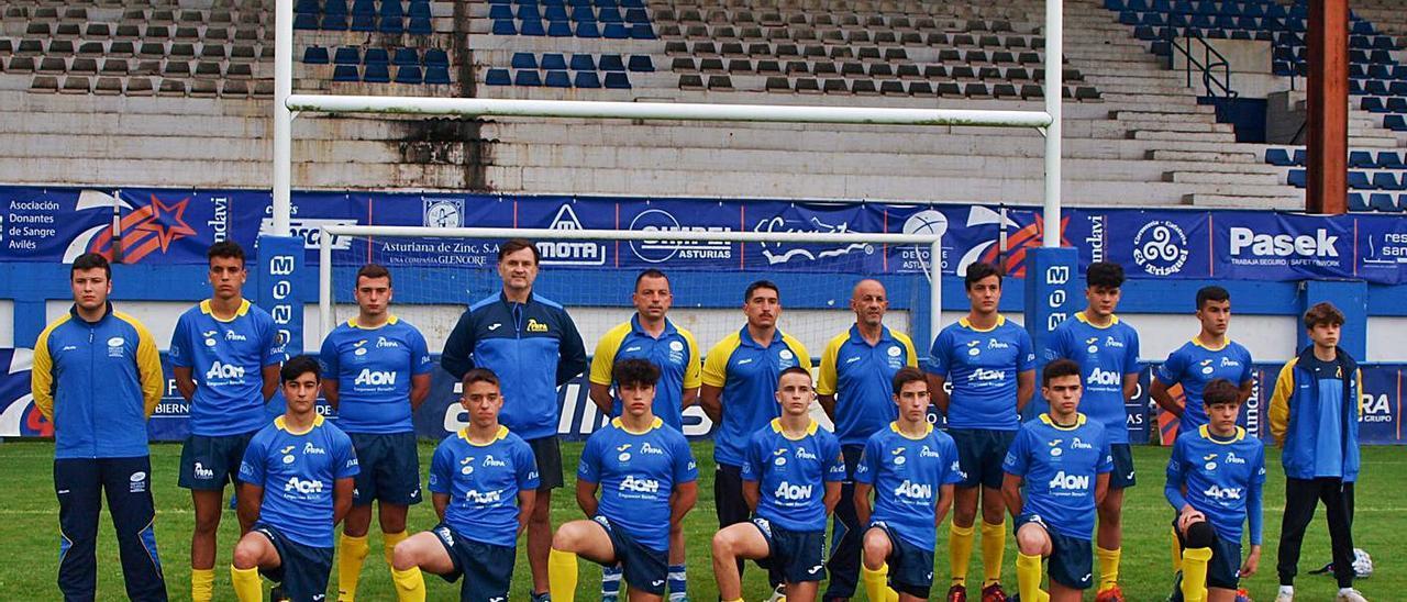 La selección masculina sub-16 de Asturias. | Diego Botas
