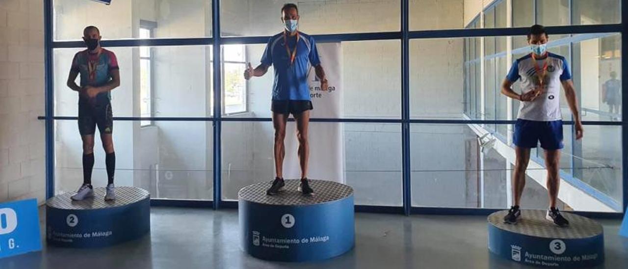Los másters de la comarca también se lucen en su Nacional de atletismo