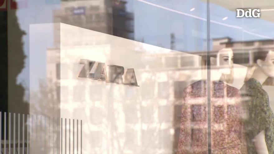 El grup Inditex accelera el tancament de botigues a Girona