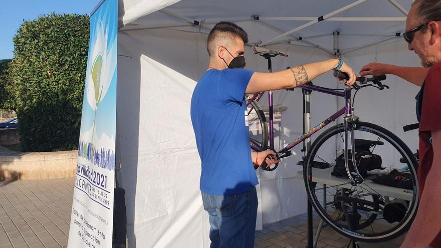 El nuevo servicio de alquiler de bicicletas y patinetes eléctricos en Alicante atrae a nueve empresas