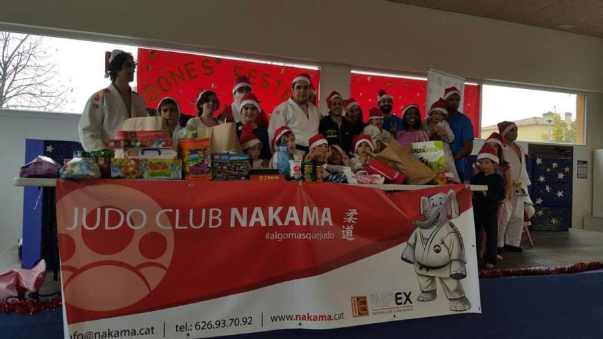 Entrenament solidari del Nakama de Vilafant