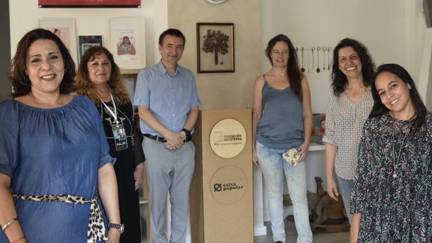 Cuatro emprendedoras inician sus proyectos pese al coronavirus con el apoyo de Novaterra y Caixa Popular