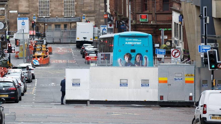 Un herido en el segundo apuñalamiento en 48 horas en el centro de Glasgow