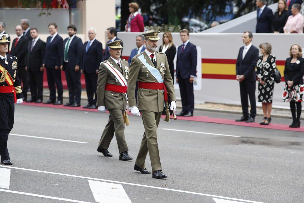 El rey Felipe VI y el Jefe de Estado Mayor de la ...