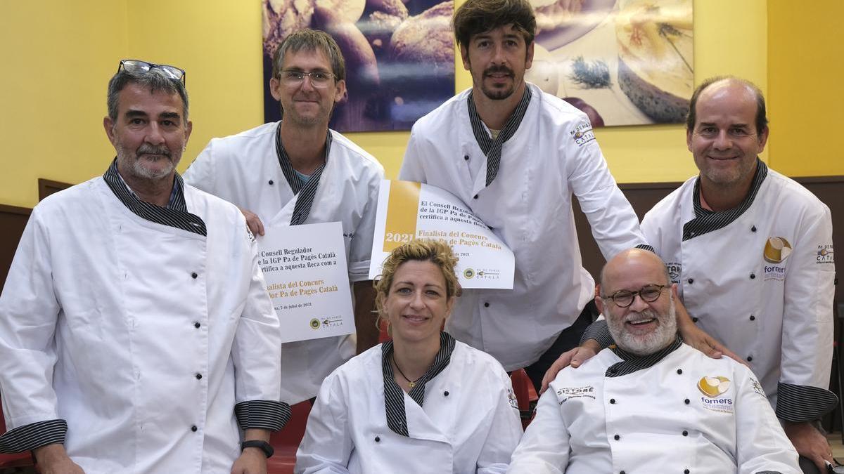 Els finalistes del concurs Millor Pa de Pagès Català 2021
