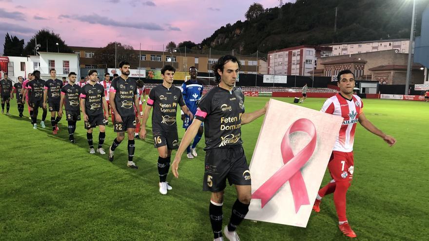 Zamora CF | Goles por la lucha contra el cáncer de mama en Laredo