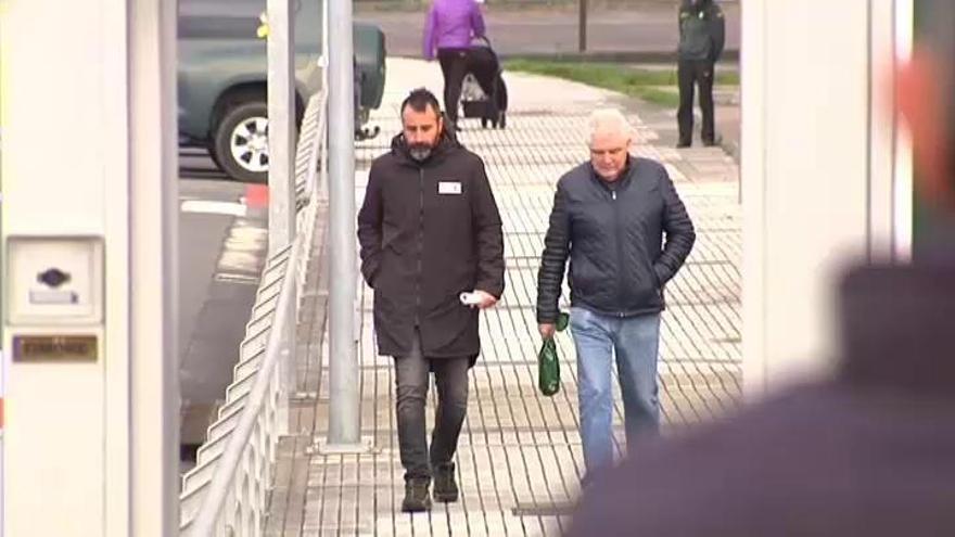 En libertad los cuatro expresos de ETA detenidos por los actos de bienvenida