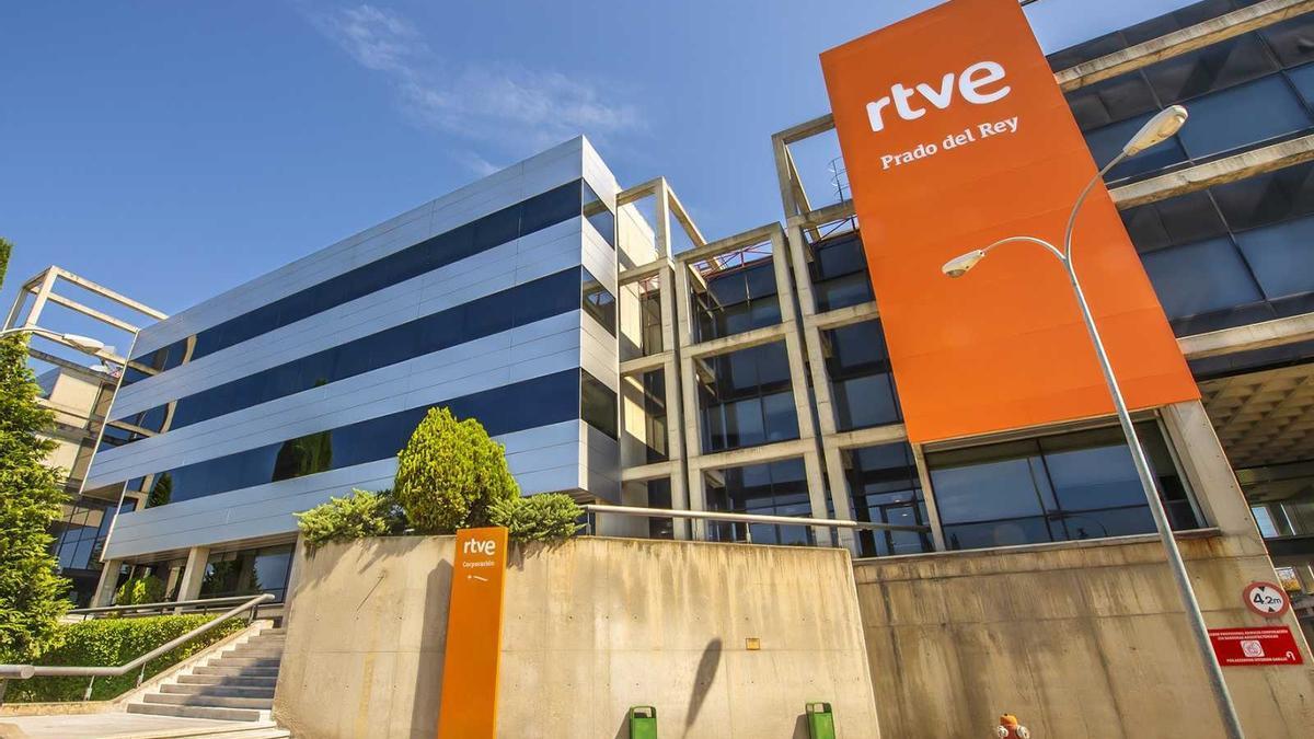 Una de las sedes de RTVE en Madrid
