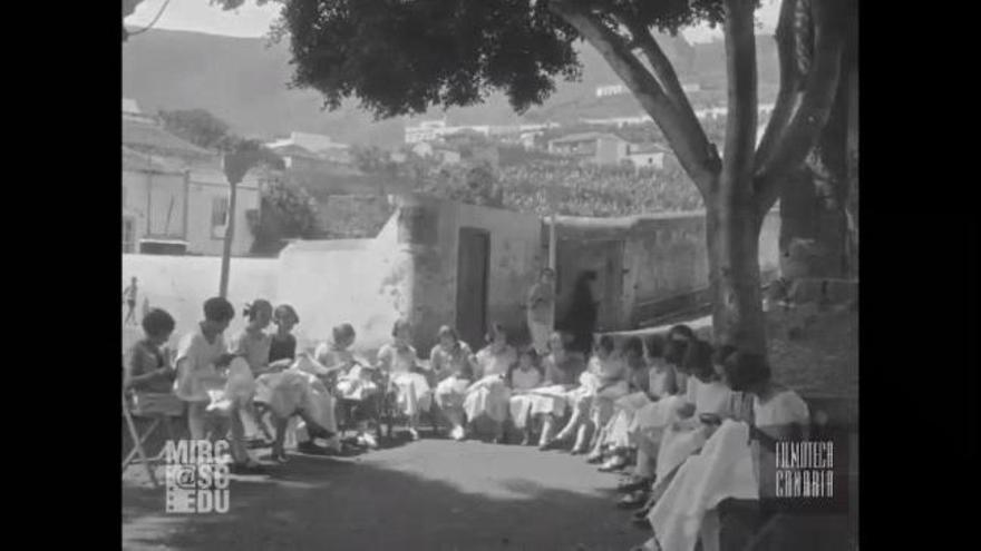 Salen a la luz imágenes de Canarias grabadas por la Fox en 1925