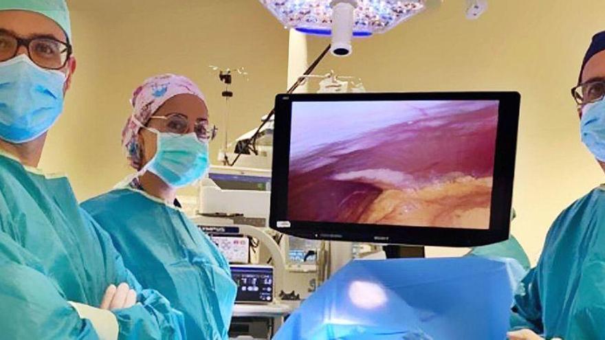 El Chuvi usa una técnica pionera en Galicia para reconstruir el tórax de una paciente