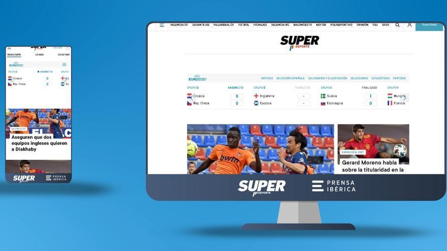 Superdeporte estrena nueva web con un diseño más visual e intuitivo