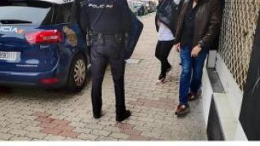 Los detenidos por tráfico de drogas