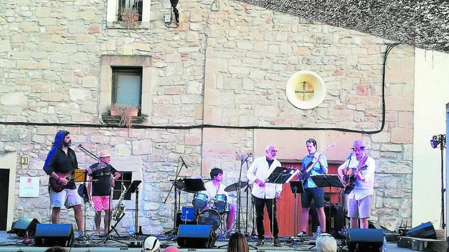 Jorba celebra la festa major amb restriccions sanitàries i recordant les víctimes de la covid-19