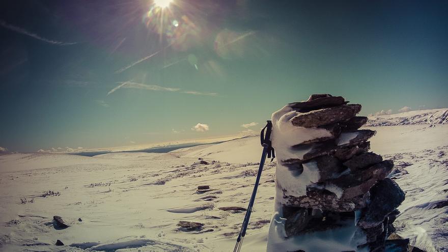 Raquetas de nieve. Trekking invernal