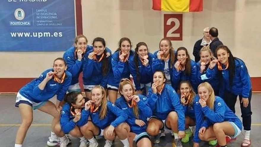Bronce para el baloncesto femenino de la UMA en los Campeonatos de España