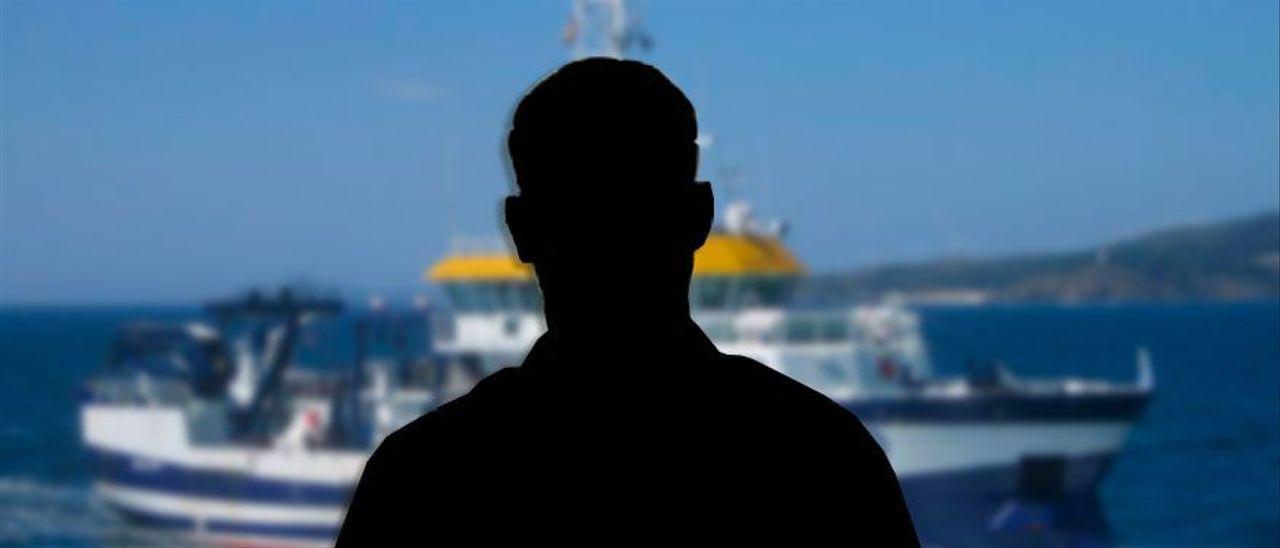 Un vecino de O Morrazo, a bordo del Ángeles Alvariño, cuenta como ha vivido la angustiosa búsqueda.