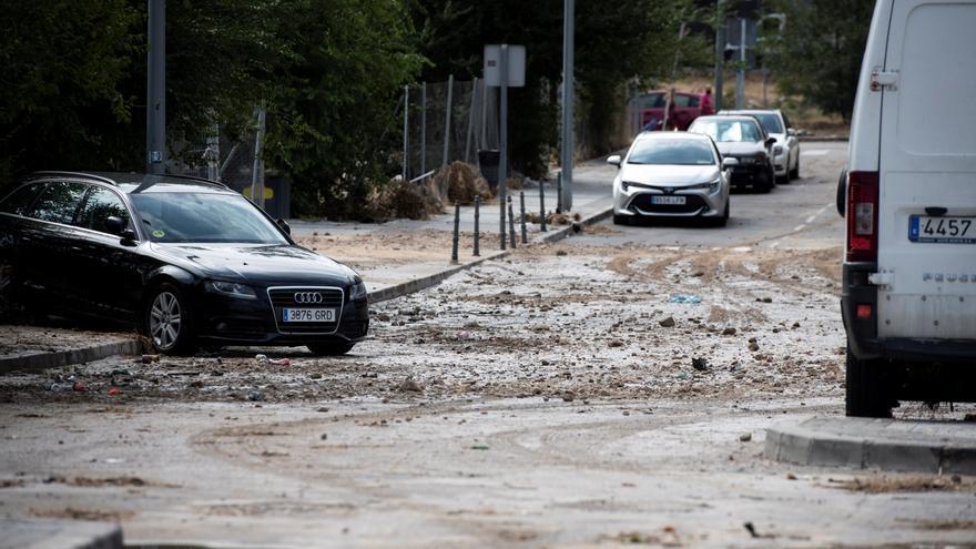 Hasta 237 incidencias por lluvias en la Comunidad de Madrid