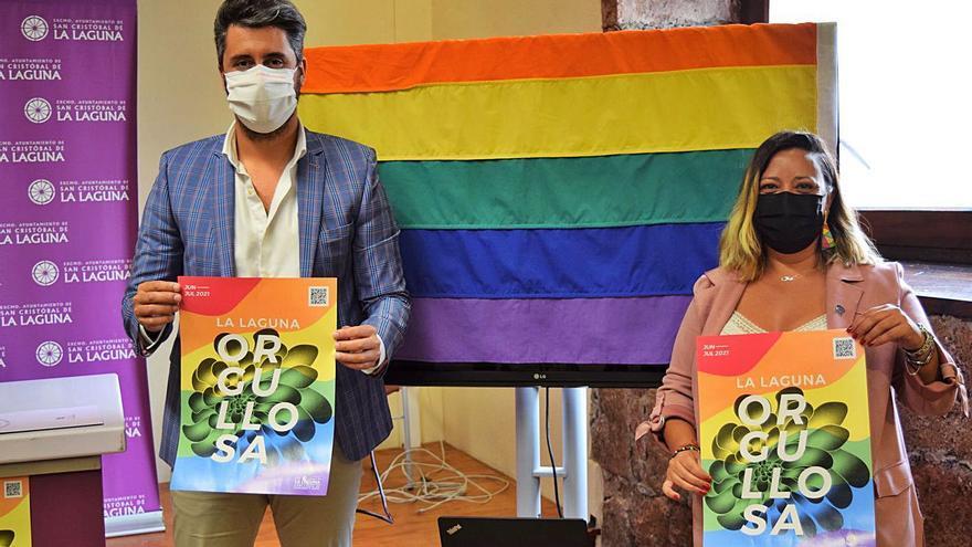 'La Laguna orgullosa', lema de dos semanas de actos desde el viernes