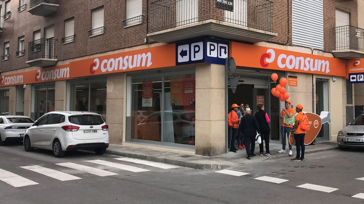 Supermercado Consum en Almassora