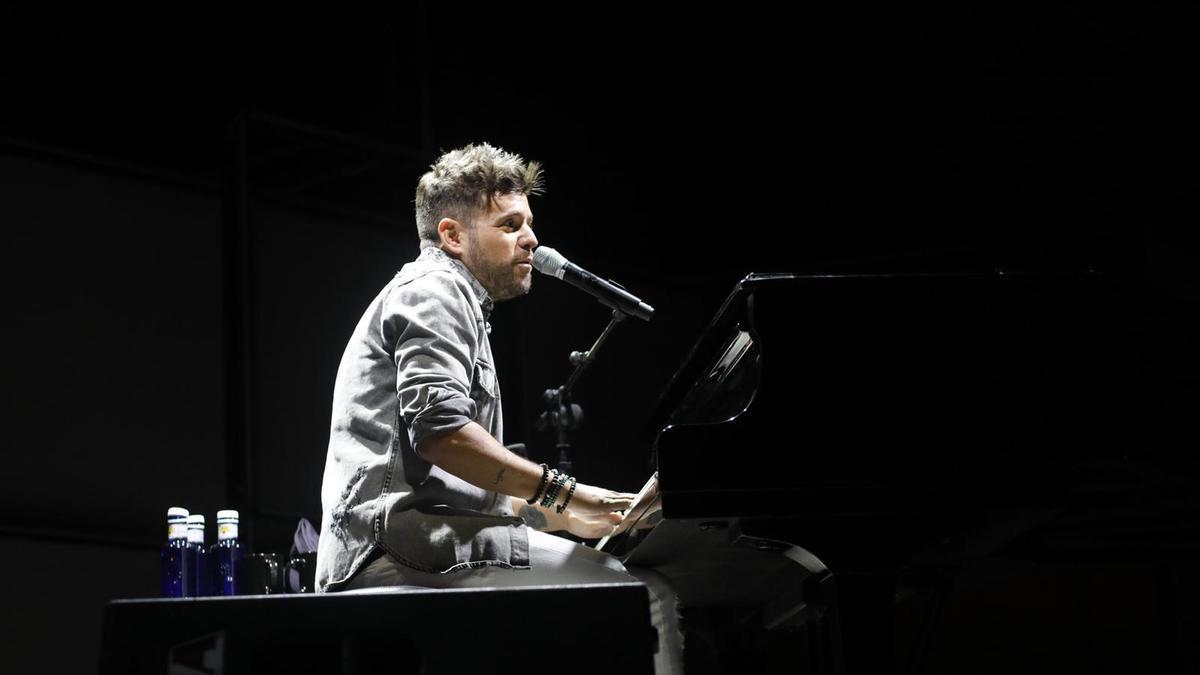 Pablo López en concierto.