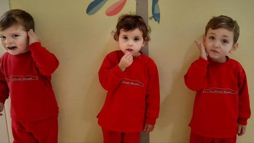 Los niños de la guardería de Llaurí aprenden la lengua de signos como estímulo