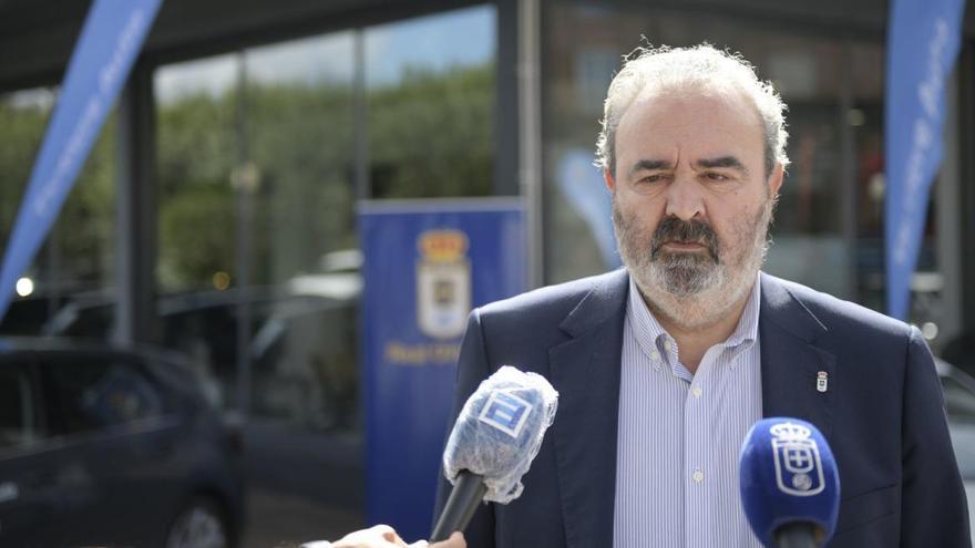 """Manolo Paredes: """"Saúl Berjón tendrá las puertas del Real Oviedo siempre abiertas"""""""