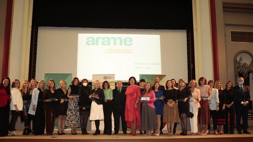 Las mujeres empresarias de Aragón recuperan sus premios