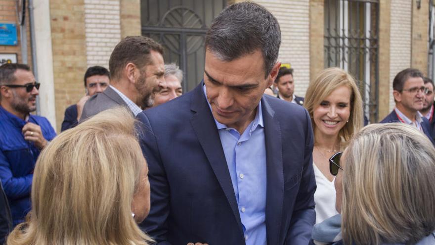 Pedro Sánchez, abucheado en Matalascañas (Huelva)