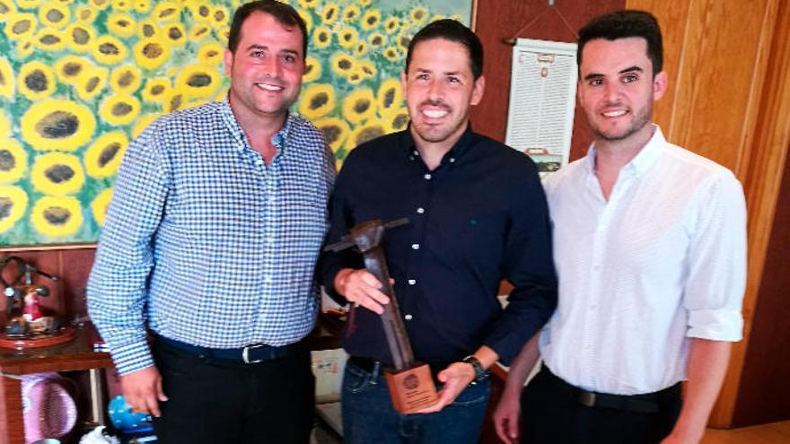Un emprendedor de Telde gana el premio al mejor empresario joven de Las Palmas