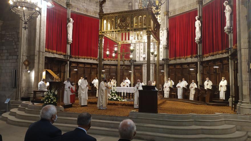 Romà Casanova s'estrena com a bisbe de Solsona sense referències a Xavier Novell