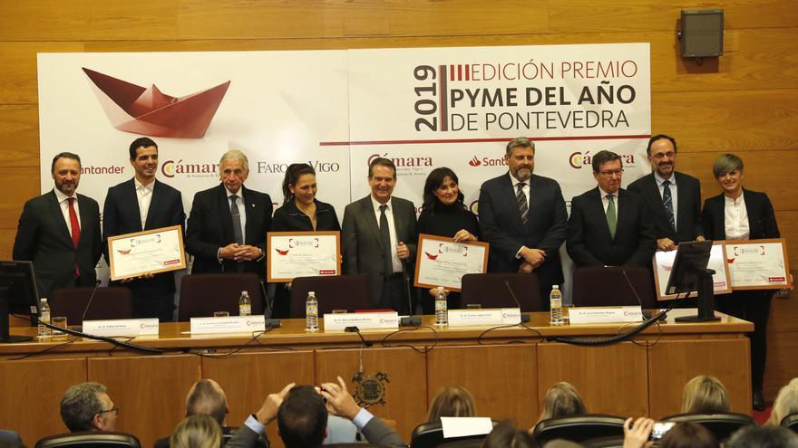 Convocados los Premios Pyme del Año en Pontevedra
