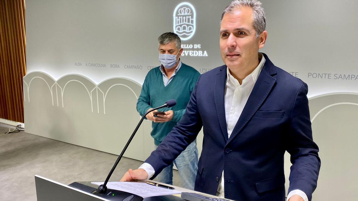 Rafael Domínguez durante su comparecencia