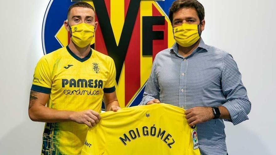 Moi Gómez renueva hasta el 2025 con el Villarreal