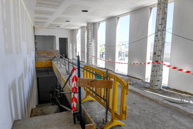 Obras de la nueva biblioteca Josefina de la Torre