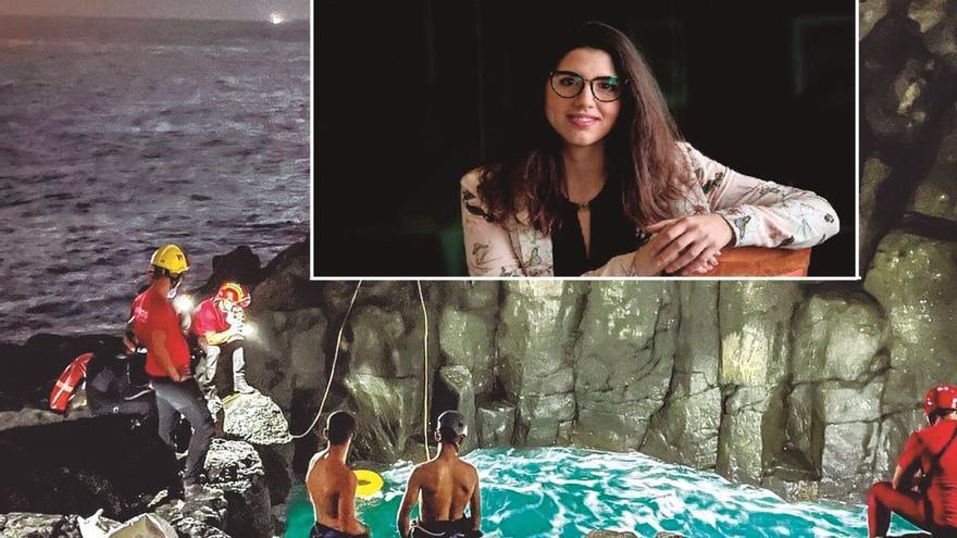 Muere la bañista rescatada en estado crítico en la cueva de El Tancón