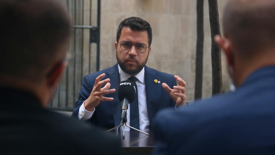Aragonès només contempla aprovar els pressupostos del Govern amb la CUP